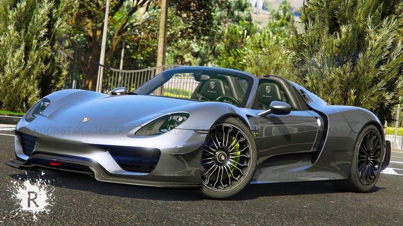 ماشین Porsche 918