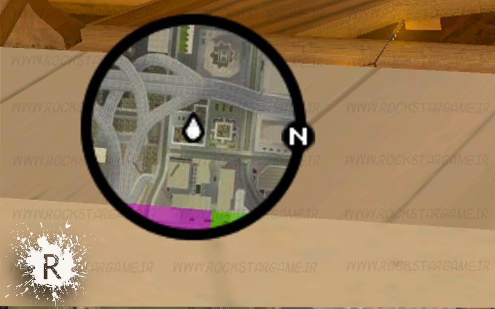 مود نقشه سه بعدی Gta Sa 3D Map Radar