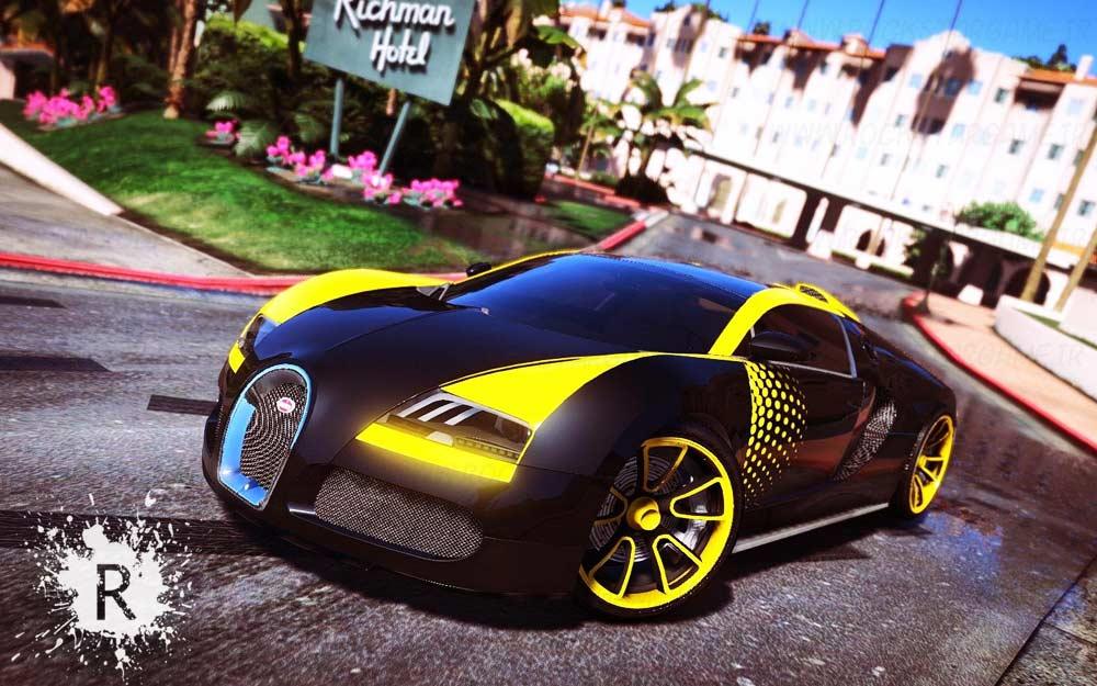bugatti veyron gta V