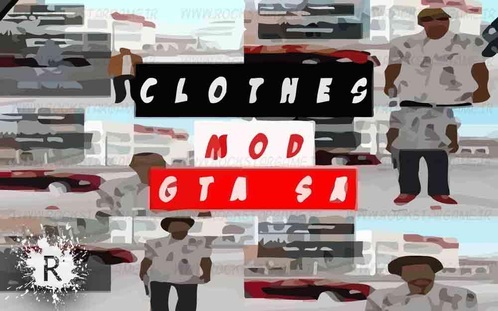 مود انتخاب لباس برای Gta sa