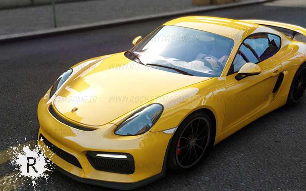 Porsche Cayman GT4 برای Gta IV