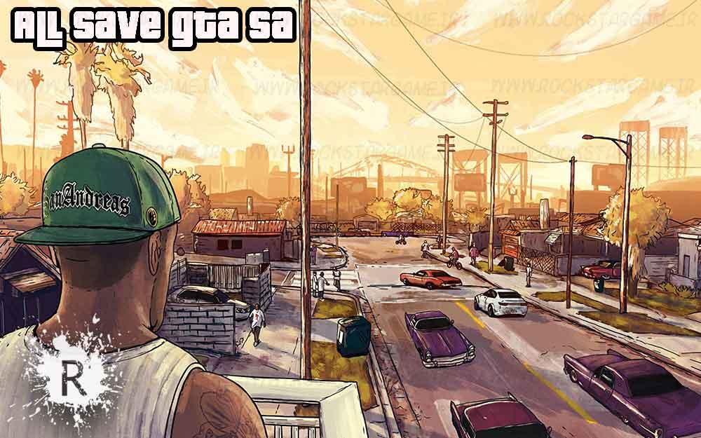 دانلود سیو Gta SA