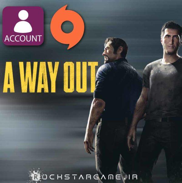 خرید اکانت بازی A Way Out