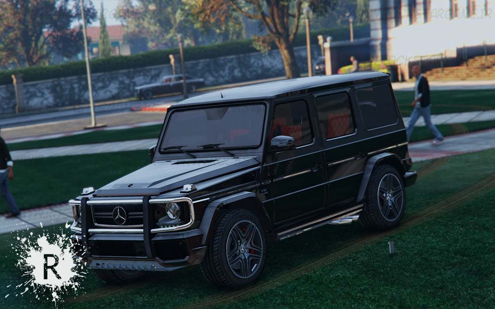 دانلود ماشین Mercedes Benz G65 AMG