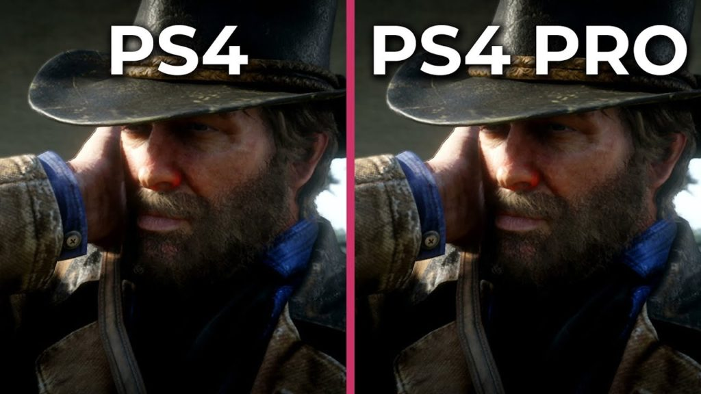 Red Dd Ps4 Vs Ps4 Pro