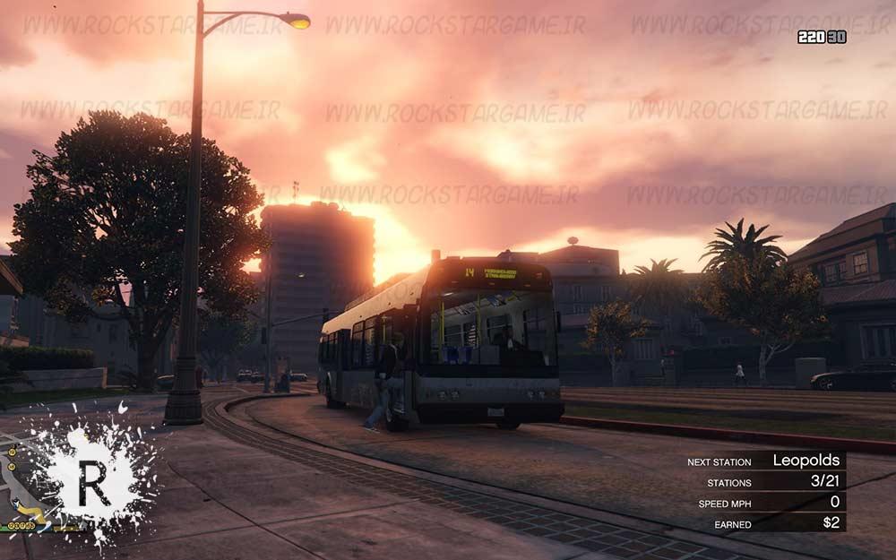 Bus Simulator gta v