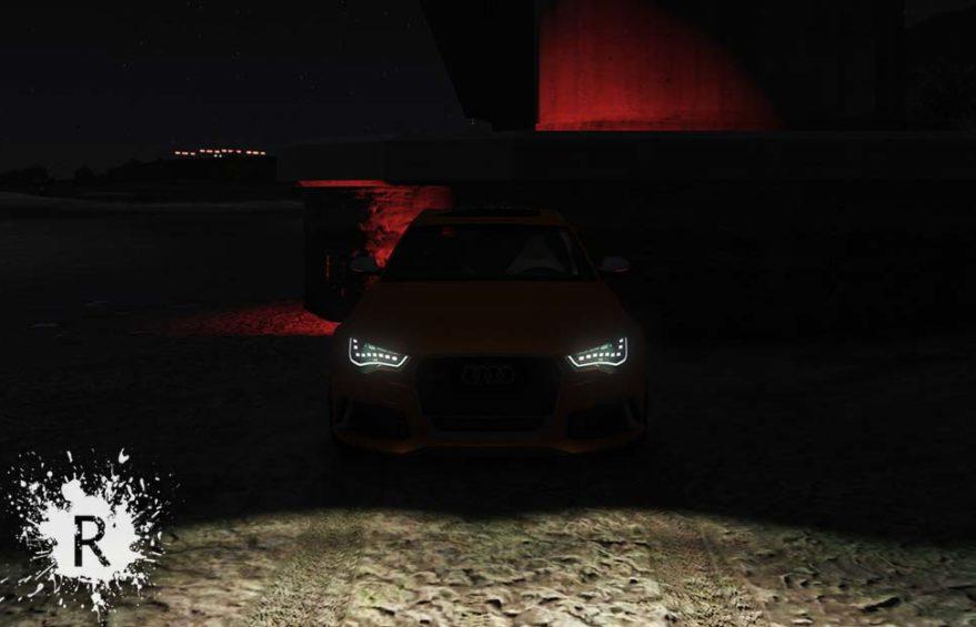 Realistic Headlights Vehicles