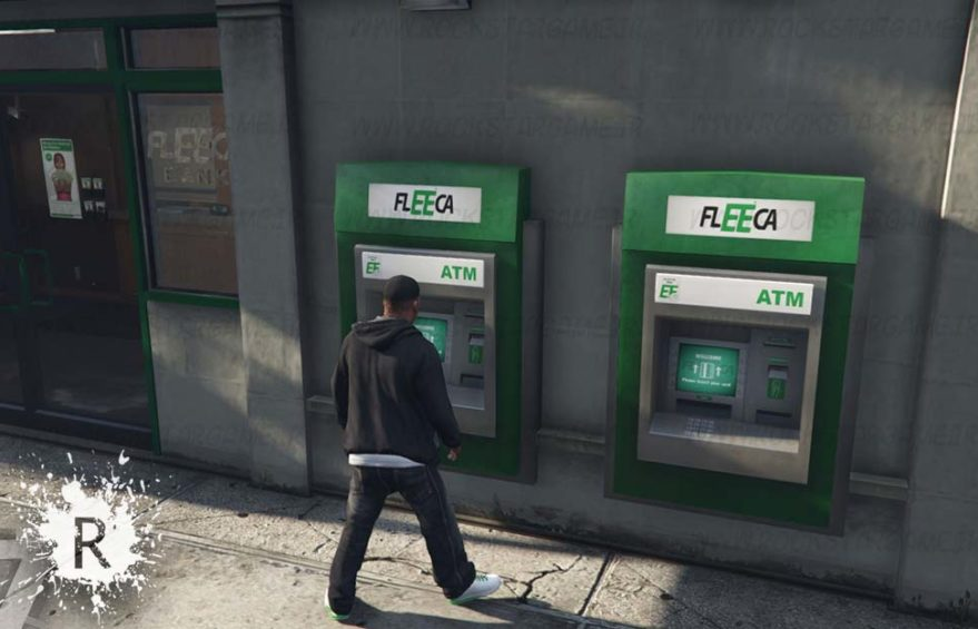 ATM in SP gta v