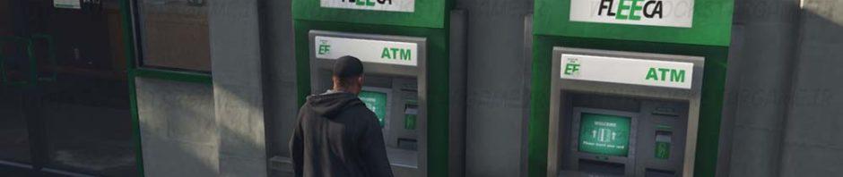 ATM in SP gta v