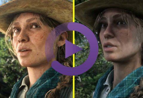 مقایسه گرافیکی میان تریلر و بازی اصلی Red Dead Redemption 2