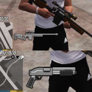Weapon Hud mini map gta v