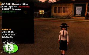 دانلود مود Skin Selector برای Gta Sa
