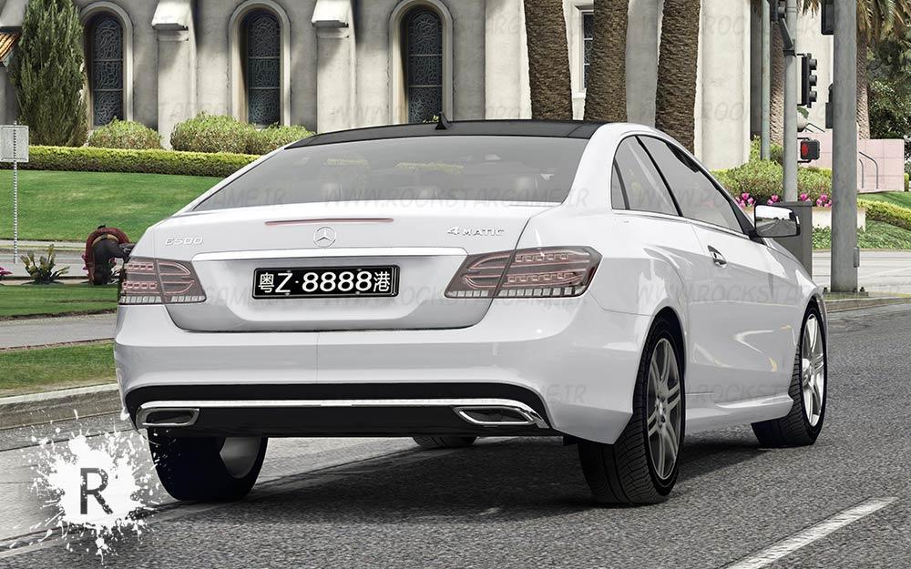 ماشین Mercedes- Benz E500 Coupe برای Gta V