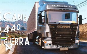 Scania R440 1