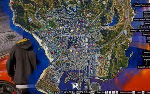 نقشه سه بعدی Gta V