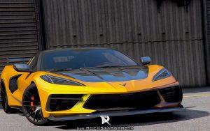 دانلود ماشین Chevrolet Corvette c8 برای Gta V