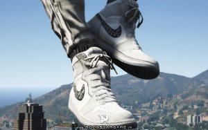 مود کتونی Nike X Dior JORDAN بازی Gta V