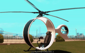 Futuristic Helicopter Www.rockstargame.ir 6